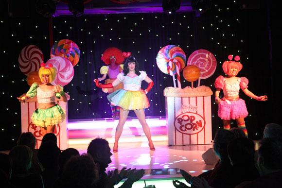 Als Katy Perry im Carte Blanche