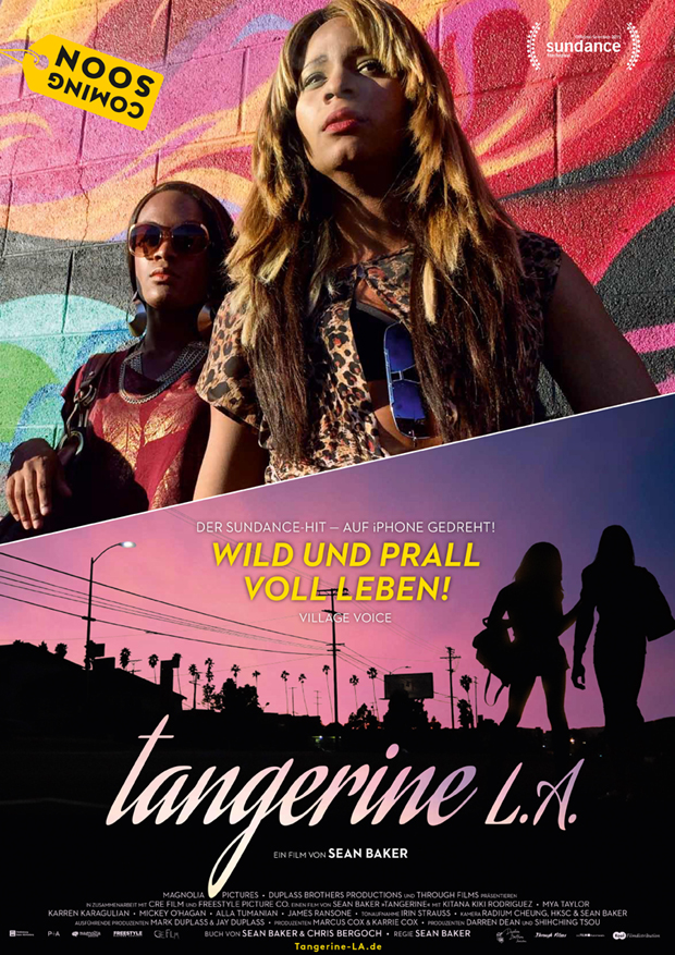 TangerineLA-Plakat